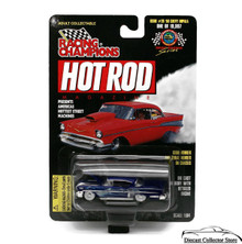 1958 Chevy Impala RACING CHAMPIONS HOT ROD MAGAZINE Diecast 1:64 08117 FREE SHIPPING