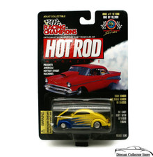 1937 Ford Custom #77 RACING CHAMPIONS HOT ROD MAGAZINE Diecast 1:58 FREE SHIPPING