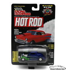 1934 Ford Coupe #84 RACING CHAMPIONS HOT ROD MAGAZINE Diecast 1:54 FREE SHIPPING