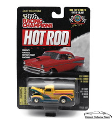 1940 Ford Pickup #34 RACING CHAMPIONS HOT ROD MAGAZINE Diecast 1:57 FREE SHIPPING