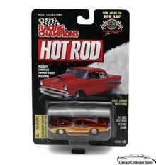 1969 Pontiac GTO #6 RACING CHAMPIONS HOT ROD MAGAZINE Diecast 1:62 FREE SHIPPING