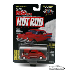 1934 Ford Coupe #60 RACING CHAMPIONS HOT ROD MAGAZINE Diecast 1:54 FREE SHIPPING