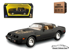 1979 Pontiac Firebird Trans Am ROAD SIGNATURE Diecast 1:43 Matt Black FREE SHIPPING