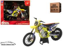 Suzuki RMZ450 Newray Diecast 1:12 Scale Travis Pastrana Nitro Circus Dirt Bike