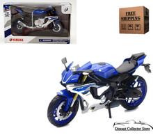 2016 Yamaha YZF-R1  NEWRAY Diecast 1:12 Blue/Silver 57803 FREE SHIPPING