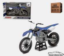 Yamaha YZ-450F 2015 Motorcycle NewRay Diecast 1:12 Scale FREE SHIPPING