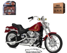 HARLEY DAVIDSON 1984 FXST Softail Diecast 1:18 Scale Series 35 FREE SHIPPING