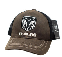 Hat - RAM Trucks Wax Cloth Vented Trucker Style Mesh Cap FREE SHIPPING