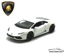 Lamborghini Huracan LP610-4 KINSMART Diecast 1:36 Scale White FREE SHIPPING