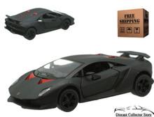 Lamborghini Sesto Elemento Kinsmart Diecast 1:38 Matte Black FREE SHIPPING