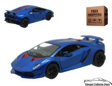 Lamborghini Sesto Elemento Kinsmart Diecast 1:38 Scalr Blue FREE SHIPPING