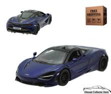 McLaren 720S Kinsmart Diecast 1:36 Dark Blue FREE SHIPPING