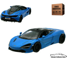 McLaren 720S Kinsmart Diecast 1:36 Scale Blue FREE SHIPPING