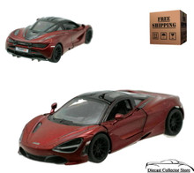 McLaren 720S Kinsmart Diecast 1:36 Scale Red FREE SHIPPING