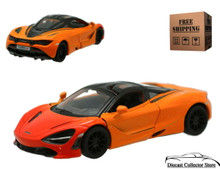 McLaren 720S Kinsmart Diecast 1:36 Scale Orange FREE SHIPPING