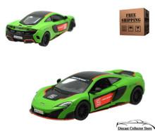 McLaren 675 LT Kinsmart Diecast 1:36 Scale Green FREE SHIPPING