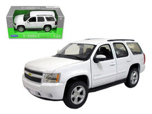 2008 Chevrolet Tahoe SUV WELLYNEX Models Diecast 1:24 Scale White 22509