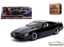 Hollywood Rides K.I.T.T. KNIGHT RIDER Pontiac Firebird JADA Diecast 1:24 Scale 30086
