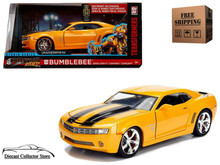 TRANSFORMERS 5 The Last Knight Movie 2006 Chevy Camaro BUMBLEBEE Jada Hollywood Rides Diecast 1:24 99382