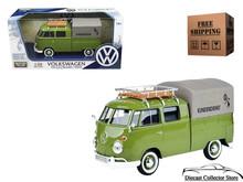Volkswagen Type 2 (T1) Pickup Kundendienst MOTORMAX Diecast 1:24 79554GRN Green