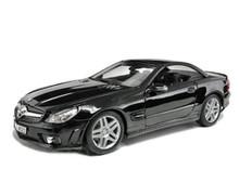 Mercedes - Benz SL65 AMG MAISTO Diecast 1:18 Scale Black