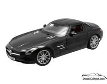 Mercedes - Benz SLS AMG Gullwing MAISTO PREMIERE EDITION Diecast 1:18 Black