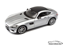 Mercedes Benz AMG GT MAISTO SSPECIAL EDITION Diecast 1:18 Scale Silver