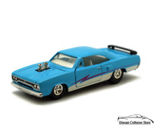 1969 Plymouth GTX Tootsietoy Hard Body Diecast 1:32 Scale Blue Limited Edition
