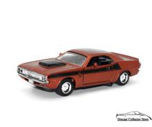 1970 Dodge Challenger T/A 340 6 Pack NEWRAY Diecast 1:32 Diecast Bronze