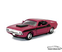 1970 Dodge Challenger T/A 340 6 Pack NEWRAY Diecast 1:32 Diecast Hot Pink