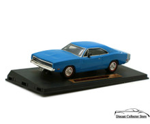 1968 Dodge Charger R/T DIMENSION 4 Diecast 1:43 Scale Blue
