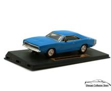 1968 Dodge Charger R/T DIMENSION 4 Diecast 1:43 Scale Blue