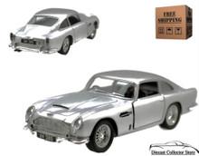 Aston Martin DB5 KINSMART Diecast 1:38 Silver FREE SHIPPING