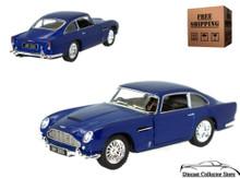 Aston Martin DB5 KINSMART Diecast 1:38 Blue FREE SHIPPING