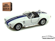 1965 Shelby Cobra 427 SC KINSMART Diecast 1:32 Scale White FREE SHIPPING