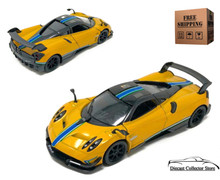 Pagani Huayra BC Livery Edition Kinsmart Diecast 1:38 Yellow Free Shipping