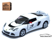 2012 Lotus Exige S KINSMART Diecast 1:32 Scale White FREE SHIPPING