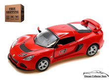 2012 Lotus Exige S KINSMART Diecast 1:32 Scale Red FREE SHIPPING