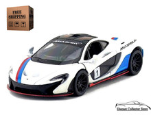 McLaren P1 Kinsmart Diecast 1:36 Scale White FREE SHIPPING