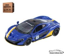 McLaren P1 Kinsmart Diecast 1:36 Scale Blue FREE SHIPPING