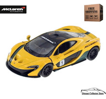 McLaren P1 Kinsmart Diecast 1:36 Scale Yellow FREE SHIPPING