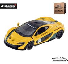 McLaren P1 Kinsmart Diecast 1:36 Scale Yellow FREE SHIPPING