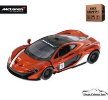 McLaren P1 Kinsmart Diecast 1:36 Scale Orange FREE SHIPPING