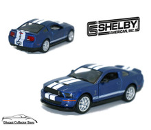 2007 Ford Shelby Mustang GT500 Diecast 1:38 Scale KT5310D Blue