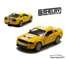 2007 Ford Shelby Mustang GT500 Diecast 1:38 Scale KT5310D Yellow