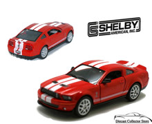 2007 Ford Shelby Mustang GT500 Diecast 1:38 Scale KT5310D Red