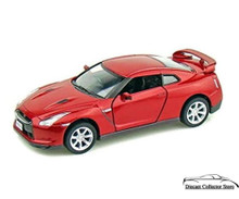 2009 Nissan GT-R R35 Kinsmart Diecast 1:36 Scale Red FREE SHIPPING