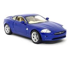 Jaguar XK Coupe KINSMART Diecast 1:38 Scale Blue FREE SHIPPING