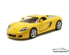 Porsche Carrera GT KINSMART Diecast 1:36 Sccale Yellow KT5081D FREE SHIPPING
