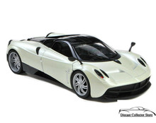 Pagani Huayra WELLY NEX Diecast 1:24 Scale Pearl White